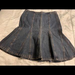 NY Jeans Denim Skirt